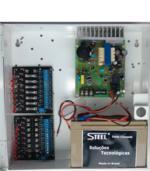 carregador de bateria 12V fonte de alimentação cameras cftv segurança I-099N-BF