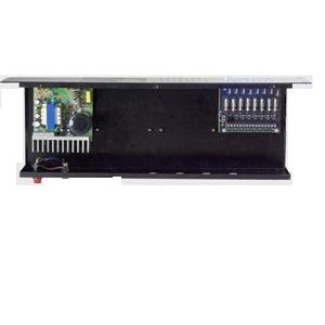 fonte de camera cftv seguranca i-099R-8 organizador 8-saidas placa  fuziveis  leds 12V de 10Amperes
