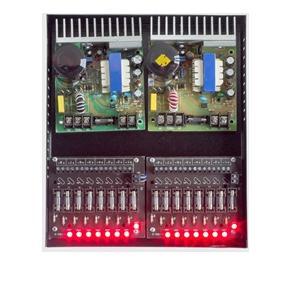 fonte de camera cftv Mod I-099P 30A 16 S segurança-16saidas-caixa-organizadora-com16 leds steel